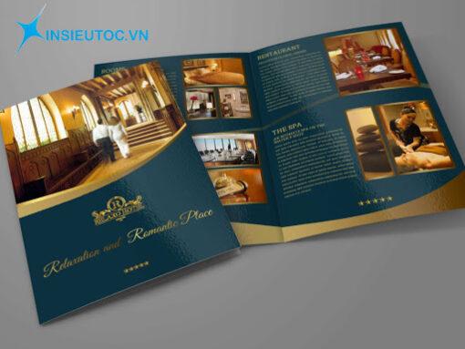 Mẫu Catalogue giới thiệu Spa đẹp
