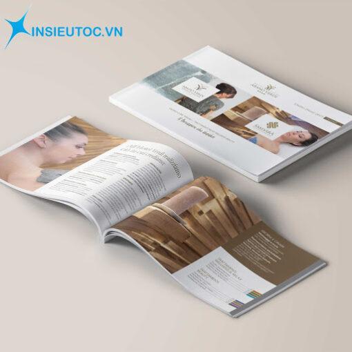 Mẫu Catalogue dịch vụ Spa
