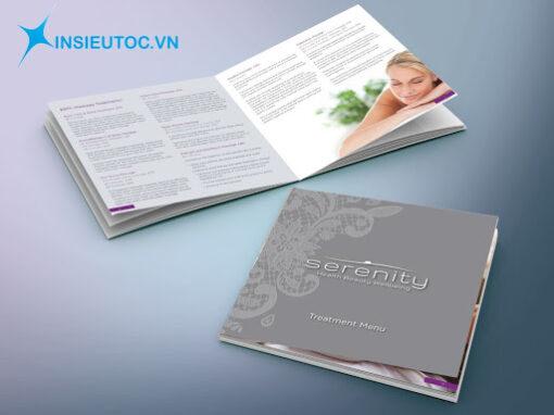 Mẫu Catalogue thông tin làm đẹp