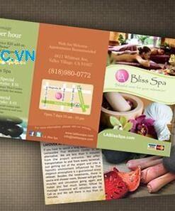 Mẫu Catalogue Spa cần nhiều hình ảnh
