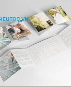 Mẫu Catalogue dạng gấp vuông