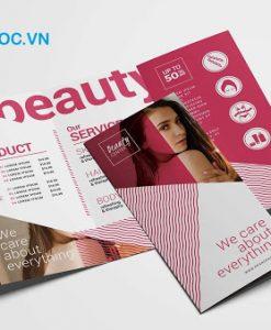 catalogue spa đơn giản