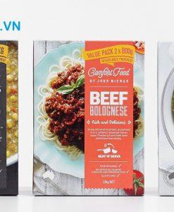 mẫu thiết kế nhãn mác thực phẩm giá rẻ