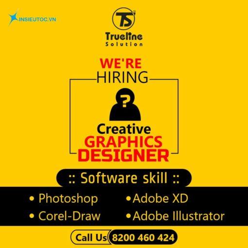 Mẫu tuyển dụng graphics designer
