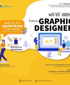 nhân viên thiết kế poster tuyển dụng