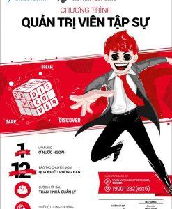 Poster tập sự tuyển dụng