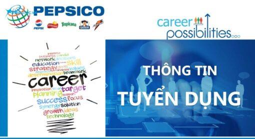 poster tuyển dụng của pepsico