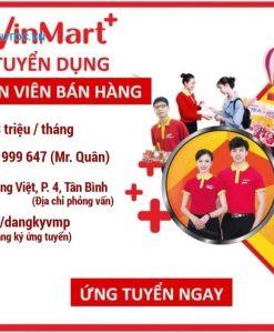 poster tuyển dụng nhân viên bán hàng