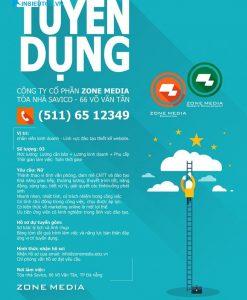 poster thông tin tuyển dụng