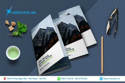 a trifold brochure