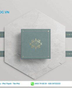 Mẫu hộp giấy đựng quà sang trọng