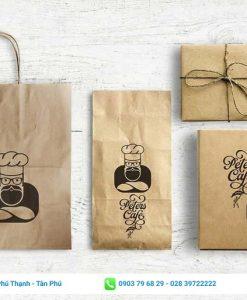 túi giấy thực phẩm được thiết kế tỉ mỉ