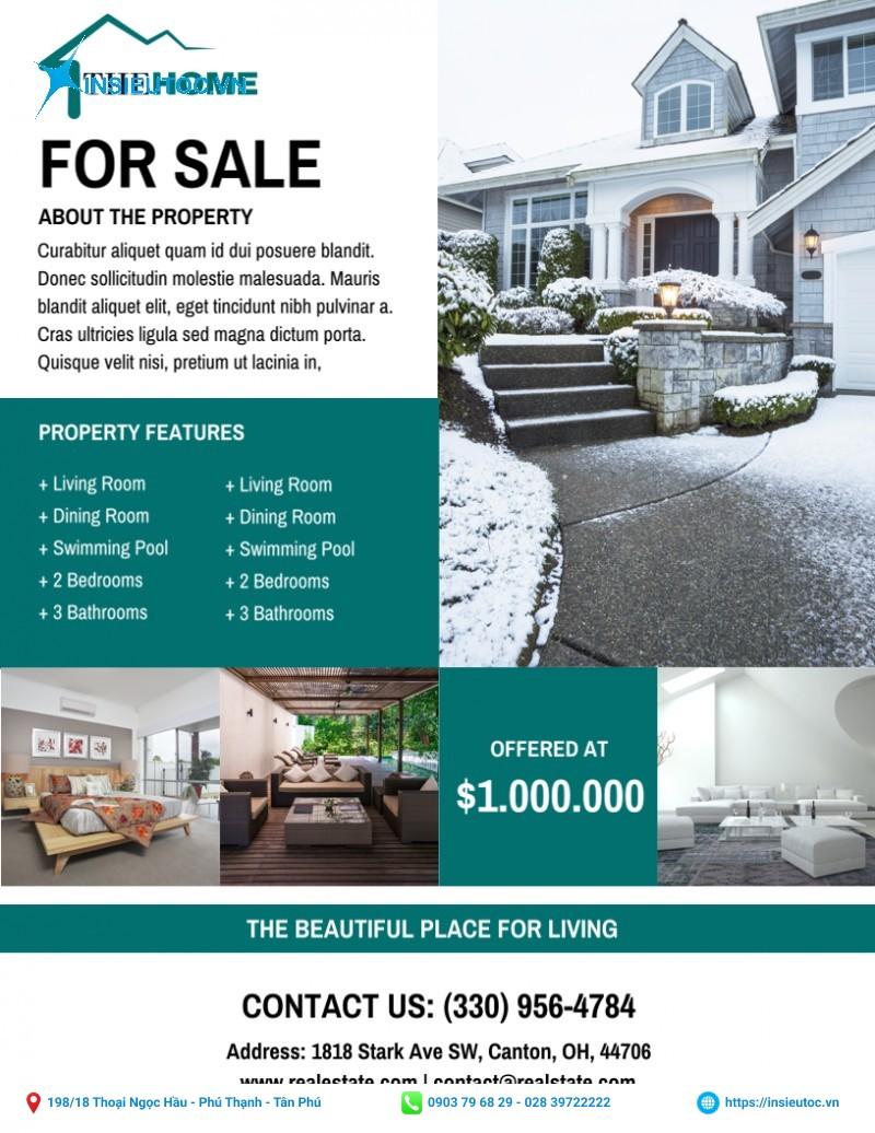 brochure bất động sản
