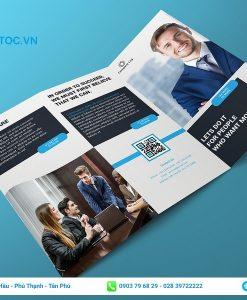 brochure tờ gấp 3