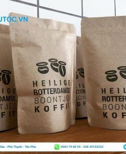 Bao bì cafe in rõ thông tin