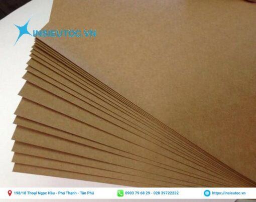 Chất liệu giấy dùng làm hộp thức ăn