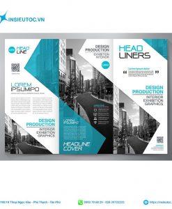 design brochure gấp 3