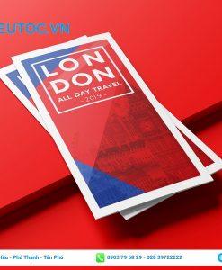 flyer travelling london