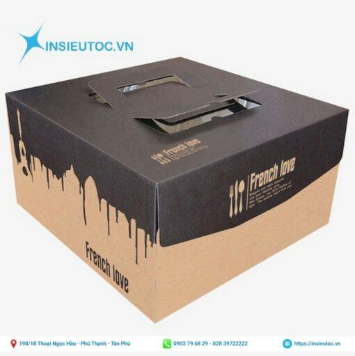 hộp giấy đựng bánh thiết kế đẳng cấp - sang trọng