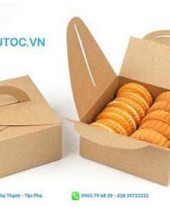 Hộp đựng bánh với thiết kế dạng gấp