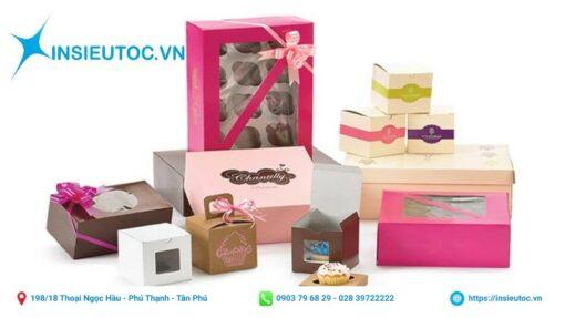 Một số mẫu hộp bánh đẹp