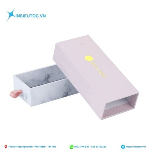 Hộp giấy đựng quà dạng kéo