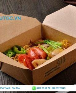 Hộp giấy đựng thực phẩm tiện lợi