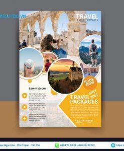 in tờ rơi du lịch thế giới