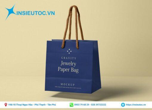 Túi giấy đựng trang sức