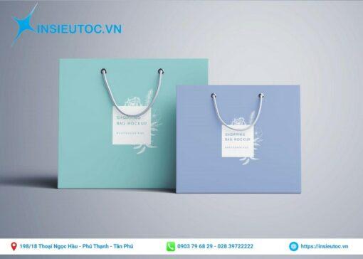 Thiết kế túi giấy đơn giản, đẹp