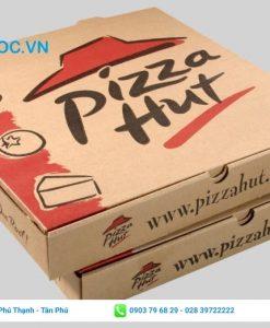 Mẫu hộp đựng bán pizza