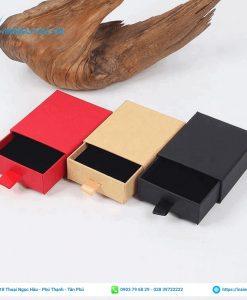 hộp giấy quà tặng cỡ nhỏ dạng kéo nhỏ xinh