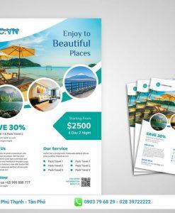 mẫu thiết kế tour du lịch