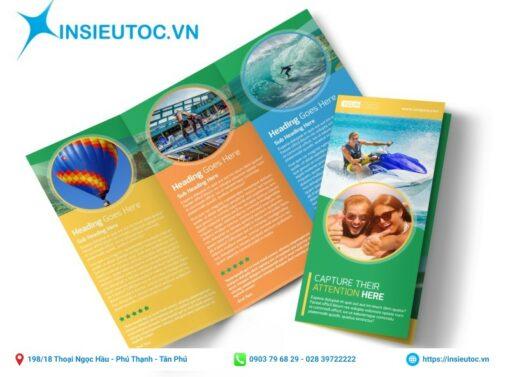 mẫu tờ rơi dành cho công ty du lịch đẹp