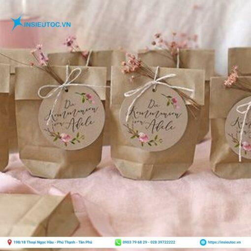 Mẫu túi xi măng tặng quà đẹp