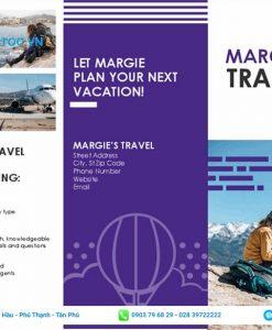 quảng cáo tour du lịch