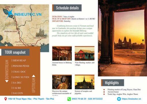 tập gấp du lịch thu hút khách hàng