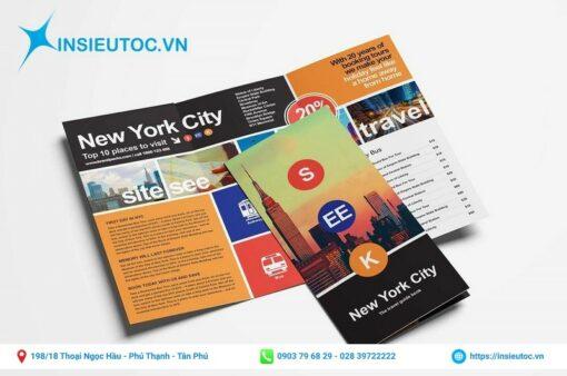 tờ rơi tham quan du lịch new york city