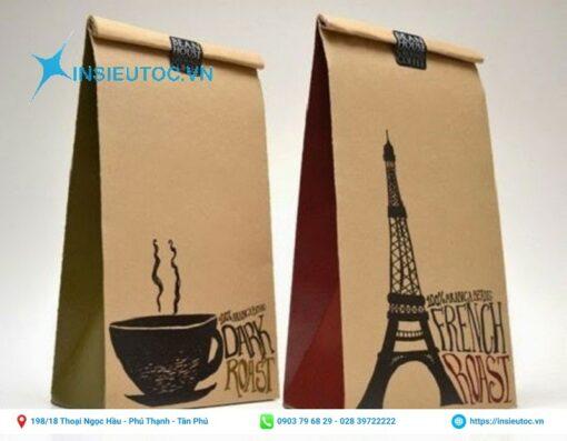 Túi cafe thiết kế bắt mắt