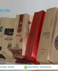 Một số mẫu túi đựng cà phê