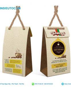 Túi đựng cafe dễ thương với quai cầm