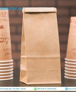 túi kraft đựng cafe