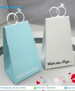 Túi giấy đựng quà tay cầm lạ mắt