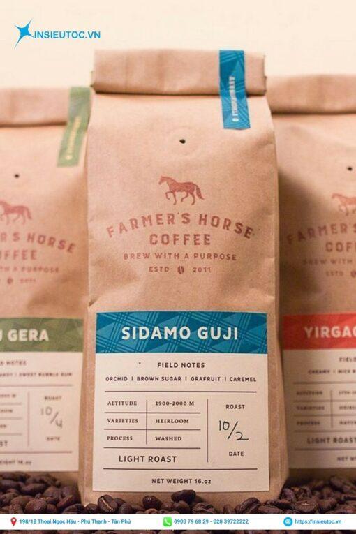 Túi đựng cà phê dạng hạt