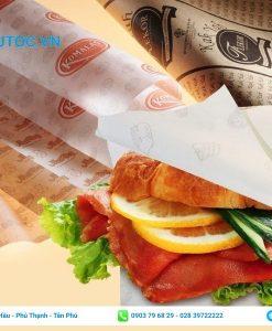 Túi giấy tam giác đựng bánh mì
