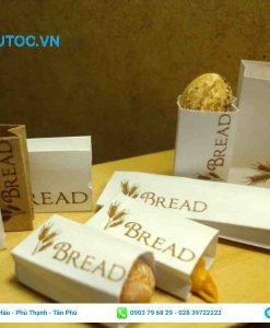 Túi giấy đựng bánh mì hcm