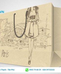 Kiểu thiết kế túi giấy kraft