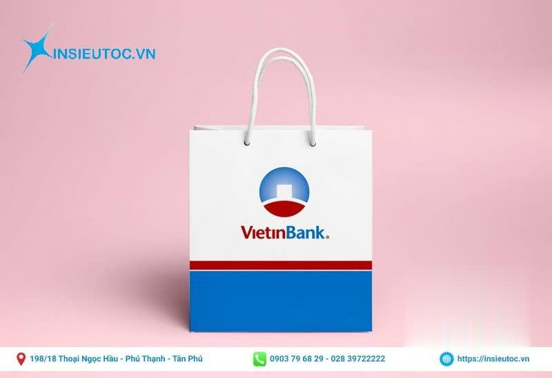 Túi giấy ngân hàng ViettinBank