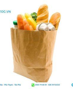 Túi giấy đựng thực phẩm cỡ lớn