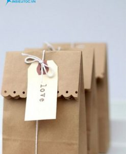 Túi giấy xi măng cách điệu